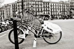 Станция велосипеда Стоковое Изображение RF