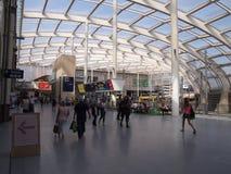 Станция Виктории в Манчестере, Англии Стоковая Фотография RF