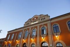 Станция в ВПТ, Венгрия ВПТ, 24-ое ноября 2015 Стоковое Фото