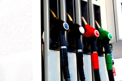 Станция газа и обслуживания Стоковые Изображения RF