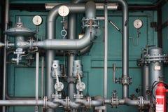 станция газа регулируя Стоковые Изображения RF