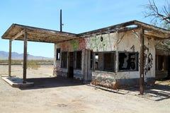 станция газа старая Стоковые Изображения RF
