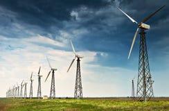 Станция генератора энергии ветра Стоковое Изображение