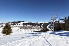 Станция горы в alps стоковая фотография rf