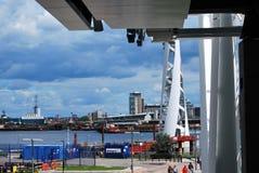 Станция Гринвич фуникулера Темза Стоковые Фотографии RF