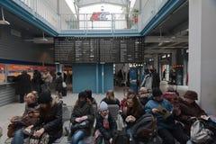 станция железной дороги Стоковые Фотографии RF