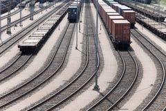 Станция железной дороги стоковое изображение rf