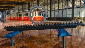 Станция железной дороги Cog, Tatranska Strba, Словакии Стоковое Изображение