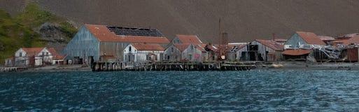Станция китоловства Stromness стоковые фотографии rf