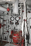 Станция компрессора стоковое изображение rf