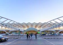 Станция конструирована архитектором Сантьяго Calat мира известным Стоковое Изображение