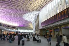 Станция Лондона Стоковое Изображение