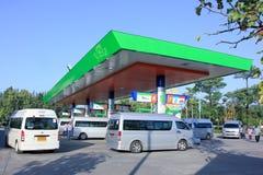 Станция масла Bangchak Стоковые Фотографии RF