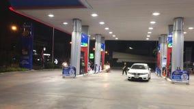 Станция масла PTT Положение на дороге никакой 1101 акции видеоматериалы