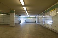 Станция метро Берлин, Германия Стоковое фото RF