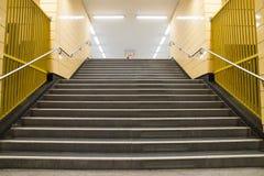 Станция метро Берлин, Германия Стоковая Фотография