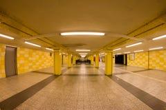 Станция метро в Берлине, Германии Стоковое фото RF