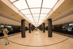 Станция метро в Берлине, Германии Стоковое Изображение RF