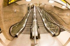 Станция метро в Берлине, Германии Стоковое Изображение