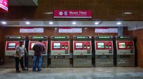 Станция метро в Куалае-Лумпур, Малайзии стоковые изображения