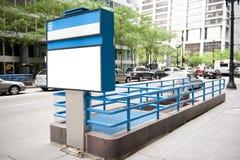 Станция метро в St положения Стоковые Фотографии RF