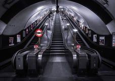 Станция метро Лондона Стоковые Фото