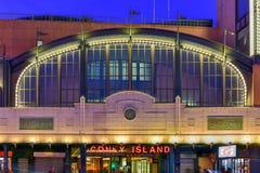 Станция метро острова кролика стоковое фото