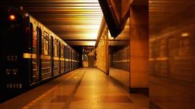 Станция метро Санкт-Петербурга стоковое изображение rf