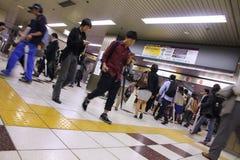 Станция метро токио Стоковые Фото