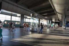 Станция метро холмов воробья, Москва Стоковое Изображение