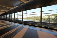 Станция метро холмов воробья, Москва Стоковые Изображения