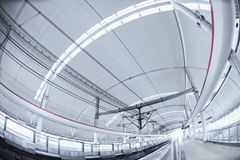 Станция метро Шанхай Стоковая Фотография RF