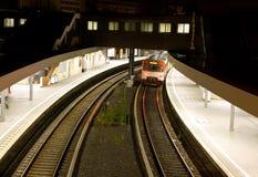 Станция метро Стоковое Фото