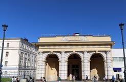 Станция метро Kurskaya(линия Koltsevaya) в Москве, России Оно было раскрыто в 01 01 1950 Стоковое фото RF