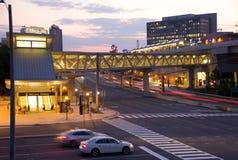 Станция метро McLean - угол Tysons Стоковое фото RF