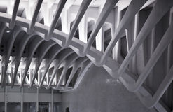 Станция метро WTC в NYC Стоковое Изображение RF