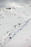 Станция неба, Андора Стоковое Фото