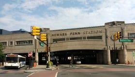Станция Ньюарка Пенна, станция Пенсильвании, NJ, США Стоковое Изображение RF