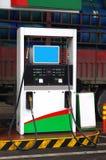станция обслуживания собственной личности газа стоковое фото rf