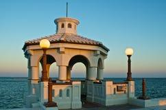 Станция остатков на морская дамба Корпус Кристи, Техасе Стоковое фото RF