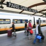 Станция Парижа северная - Gare du Nord Стоковая Фотография