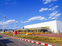 Станция перехода газа Стоковые Изображения