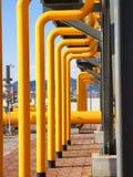 Станция перехода газа Стоковые Фотографии RF