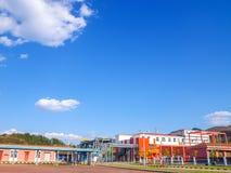 Станция перехода газа Стоковое Изображение