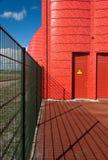 Станция передачи тепла в Almere, Нидерландах Стоковое Фото