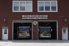 Станция пожарного депо и скорой помощи Стоковое фото RF