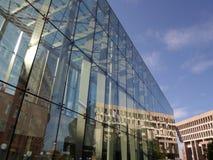Станция правительства разбивочные и право здание муниципалитета Бостона, центр правительства, Бостон, Массачусетс, США стоковое фото rf