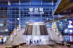 Станция Пусана Стоковая Фотография