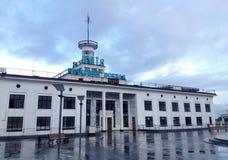Станция реки на реке Dnipro в Киеве Украина стоковое изображение