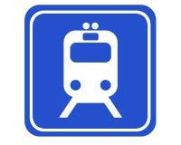 станция рельса Стоковая Фотография RF
